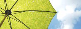 イイダ傘店 日傘 雨傘展